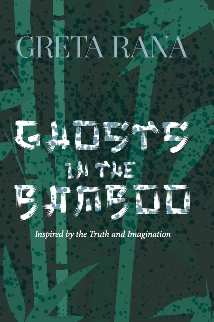 Front-cover for Ghosts in the Bamboo